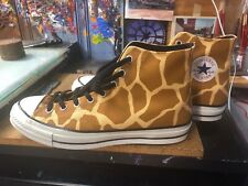 cc7f685cb53684 Converse Chuck 70 HI Flax Brown Giraffe Animal Print Size US 12 Men 163410C  New