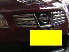 Chrome Front Grille Trims For Nissan Qashqai Dualis 2007 2008 2009 07 08 09