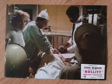 STEVE McQUEEN: BULLITT scarce vintage 1968 French lobby card #6 Jackie Bisset