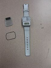Used Ultmost Talking Wristwatch Grey FREE SHIPPING Inventory Box A-36