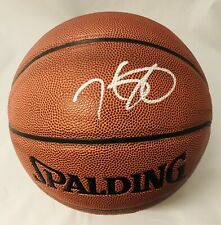 KEVIN DURANT SIGNED SPALDING NBA BASKETBALL BROOKLYN NETS MVP AUTOGRAPH+JSA COA!