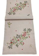 Christmas Berries Table Linen - Table Runner or Napkins