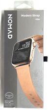 Nomad - Slim Moderne Bracelet Montre Cuir pour Montre Apple 38mm/40mm - Naturel