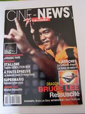 CINE NEWS BRUCE LEE  Magazine Revues karate kung fu arts martiaux