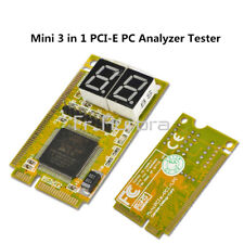 Mini 3 in1 PCI PCI-E LPC PC Laptop Analyzer Tester Diagnostic Post Test Card