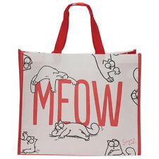 Simon De Gato Meow Compras Bolso para el hogar Juguete Regalo de Almacenamiento de Mujer Bolso de viaje