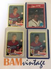 Steve Avery RC 1990 Topps Donruss Rookie 4 Baseball Card LOT Atlanta Braves 🔥⚾️