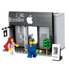 Building Bricks Compatible Modulaire Apple Store comprend 2 Minifigures City UK