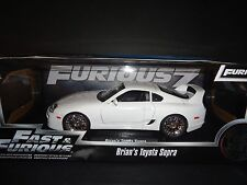 Jada Toyota Supra 1995 White Brian's Car Fast and Furious 1/18 97509