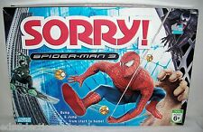 Parker Brothers ©2007 SORRY! Spiderman 3 Edition COMPLETE