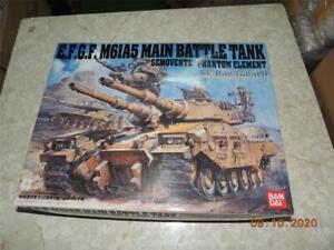BANDAI 1/35 EFGF M61A5 MAIN BATTLE TYPE 61 TANK KIT GUNDAM Earth Federation Army