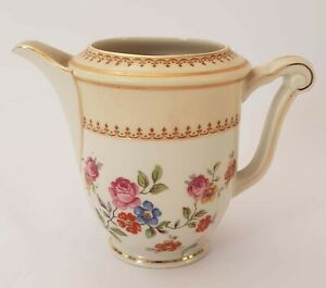 Small Cover Pot A Milk Limoges Porcelain By Raynaud Ref 4732