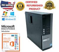 Dell Optiplex 7010 SFF Intel i5-3470 3.20Ghz WIN 10 COMPUTER  PC  DESKTOP