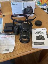 Canon EOS Rebel SL2 24.2 MP Digital SLR Camera - Black