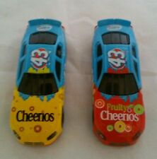 (2) Die-Cast Toy Cars / Cheerios & Fruity Cheerios Cereal
