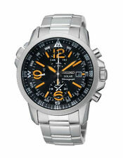 Seiko Round Watches with Chronograph