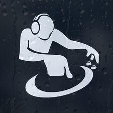 DJ Car Decal Vinyl Sticker For Bumper Or Window Or Panel