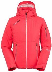 Spyder Women's SCHATZI GTX INFINIUM ski Jacket Solid Bubblegum PINK US 14 UK 16