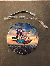 Aladdin and Jasmine on Magic Carpet Ornament Disney Animation Celebration Gift