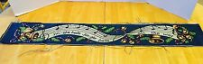 """Tapestry Christmas """"Jingle Bells"""" 43"""" x 6 1/2"""" Great for Pillow Or Wall Hanging"""