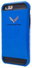 """Official Corvette Bumper Hard Case for iPhone 6 / 6s (4.7"""") Blue (COHCP6LB)"""