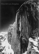 "Ansel Adams Photo ""Monolith, the Face of Half Dome"" 1927"