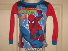 Boys Spiderman Pajama Top Red Blue 2T NEW