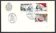 1987 FDC SAN MARINO GARE AUTO - RSM3