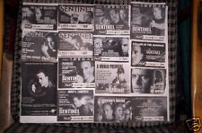 Sentinel 25 TV Guide Ads RICHARD BURGI