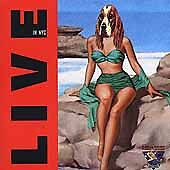 Iggy Pop : Live in Nyc Rock 1 Disc Cd
