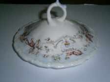 ROYAL DOULTON BRAMBLY HEDGE WINTER LID ONLY FOR THE POWDER DRESSING TABLE BOWL