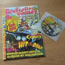 Sam & Max Hit The Road CD-Version PC-Spiel, Bestseller Games Gold, Lucas Arts