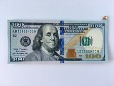 $100 US Dollars ERROR NOTE Butterfly Foldover 2009 Uncirculated