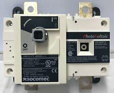 Socomec Dc Disconnect Switch 27pv2019