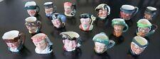 16 Royal Doulton Miniature Toby Character Jugs