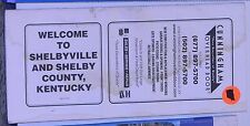 2002 Promotional Street Map of Shelbyville & Shelby County w/Local Advertising