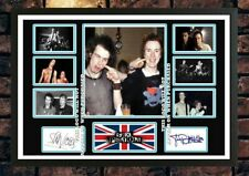 More details for (463) sid vicious & johnny rotten sex pistols  signed unframed/framed photograph