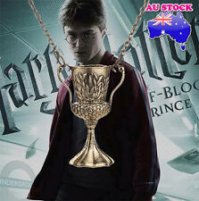 Harry potter Deathly hallow Helga Hufflepuff cup necklace