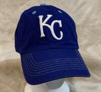 Kansas City Royals Fan Favorite Adult OSFA Strapback Hat Cap MLB AL Baseball