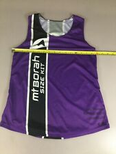 Mt Borah Teamwear Womens Running Run Singlet Medium M (6910-107)