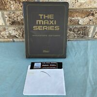 "Tandy TRS-80 Computer Software The Maxi Series Mail 1982 5.25"" Floppy Vintage"
