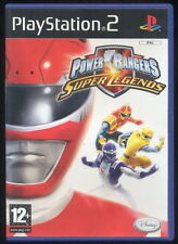 1 RETRO GIOCO PLAYSTATION PS 2 GAME SENTAI/TOKUSATSU-POWER RANGERS SUPER LEGENDS