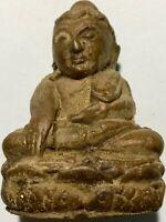 PHRA SOMDEJ LP RARE OLD THAI BUDDHA AMULET PENDANT MAGIC ANCIENT IDOL#106