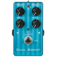 Suhr Dual Boost Buffer Line Driver True Bypass Guitar Effects FX Stompbox Pedal