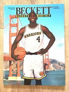 Beckett Basketball Monthly November 1993 Chris Weber Issue #40