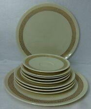 LENOX china RONDELLE E500 pattern 6-piece LOT 2 dinner & 4 bread plates