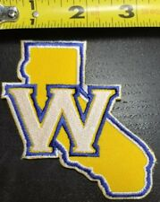 """Golden State Warriors~California Shape~3.5"""" Iron On Patch~FREE SHIPPING FROM US~"""