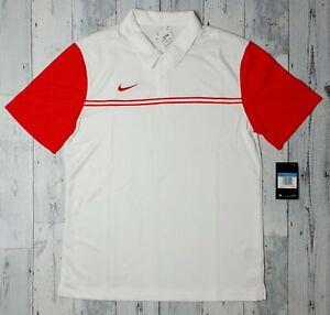 NEW! $65 NIKE Short Sleeve Golf Polo Shirt Stretch Men's Size Medium NWT