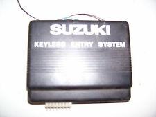 1989-98 Suzuki Sidekick Keyless Entry System CONTROL MODULE ECM COMPUTER key