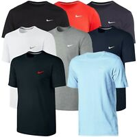 Nike Mens T Shirt Gym Cotton Sports Crew Neck Jogging Casual Tee Top Sizes S -XL
